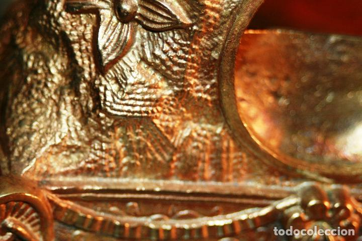 Relojes de bolsillo: RELOJERA SOPORTE PARA RELOJ DE BOLSILLO EN BRONCE FRANCES FINALES SIGLO XIX - Foto 2 - 116252767