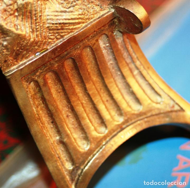 Relojes de bolsillo: RELOJERA SOPORTE PARA RELOJ DE BOLSILLO EN BRONCE FRANCES FINALES SIGLO XIX - Foto 4 - 116252767