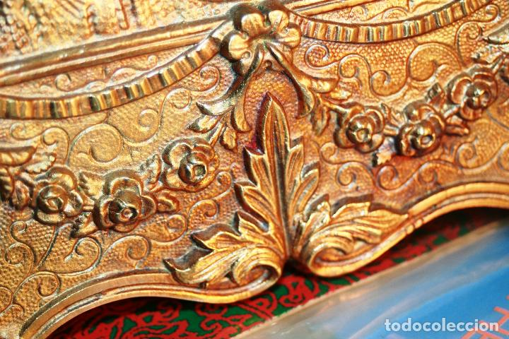 Relojes de bolsillo: RELOJERA SOPORTE PARA RELOJ DE BOLSILLO EN BRONCE FRANCES FINALES SIGLO XIX - Foto 13 - 116252767