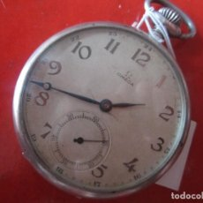 Relojes de bolsillo: RELOJ ANTIGUO DE BOLSILLO MARCA OMEGA. CAJA DE PLATA. Lote 116426707