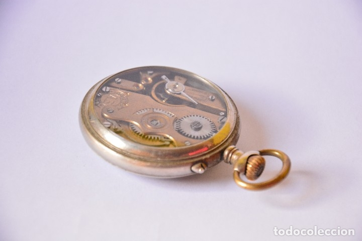 Relojes de bolsillo: Regulador Patent AB. Reloj de bolsillo - Foto 10 - 116483695