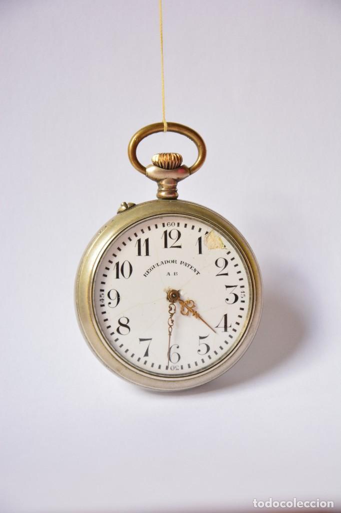 Relojes de bolsillo: Regulador Patent AB. Reloj de bolsillo - Foto 3 - 116483695