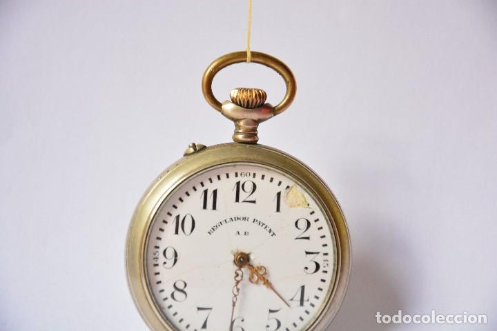 Relojes de bolsillo: Regulador Patent AB. Reloj de bolsillo - Foto 4 - 116483695
