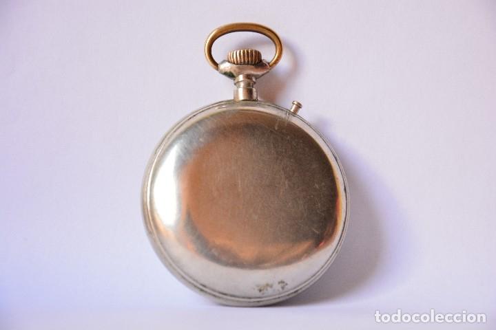 Relojes de bolsillo: Reloj de bolsillo antiguo Systeme Roskopf - Funciona - Foto 3 - 116484259
