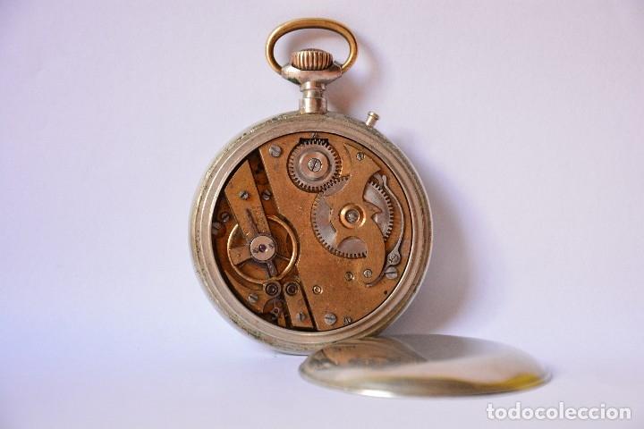 Relojes de bolsillo: Reloj de bolsillo antiguo Systeme Roskopf - Funciona - Foto 2 - 116484259