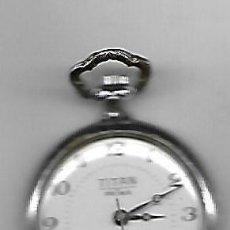 Relojes de bolsillo: RELOJ DE BOLSILLO DE CUERDA MANUAL EL QUE VES . Lote 116546983