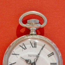 Relojes de bolsillo: ANTIGUO PEQUEÑO RELOJ DE BOLSILLO MARCA THERMIDOR CARGA MANUAL EXCELENTE FUNCIONA PERFECTO. Lote 57135831