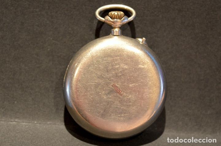 Relojes de bolsillo: RELOJ DE BOLSILLO CARGA MANUAL SUIZO MARCA DOGG SISTEMA ROSKOPF FUNCIONANDO SWISS MADE - Foto 3 - 108353299