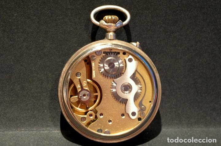 Relojes de bolsillo: RELOJ DE BOLSILLO CARGA MANUAL SUIZO MARCA DOGG SISTEMA ROSKOPF FUNCIONANDO SWISS MADE - Foto 7 - 108353299