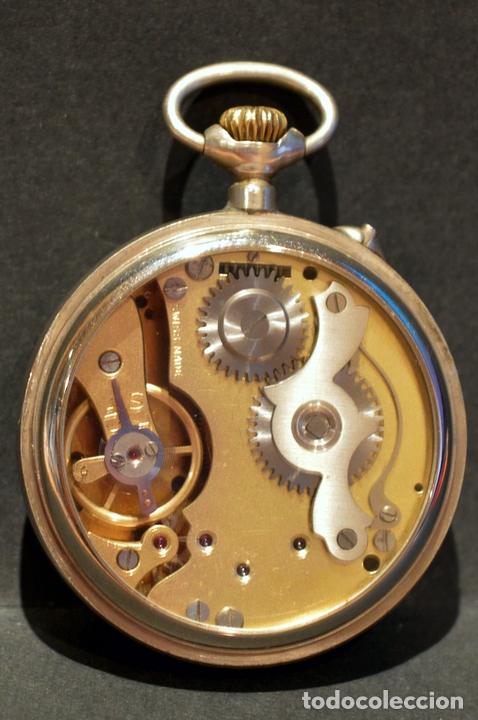 Relojes de bolsillo: RELOJ DE BOLSILLO CARGA MANUAL SUIZO MARCA DOGG SISTEMA ROSKOPF FUNCIONANDO SWISS MADE - Foto 8 - 108353299