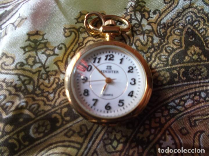 e7c2937d1 Reloj de bolsillo antiguo minister bañado en or - Vendido en Subasta ...