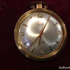 Relojes de bolsillo: RELOJ CAUNY DE BOLSILLO A CUERDA. Lote 116951823