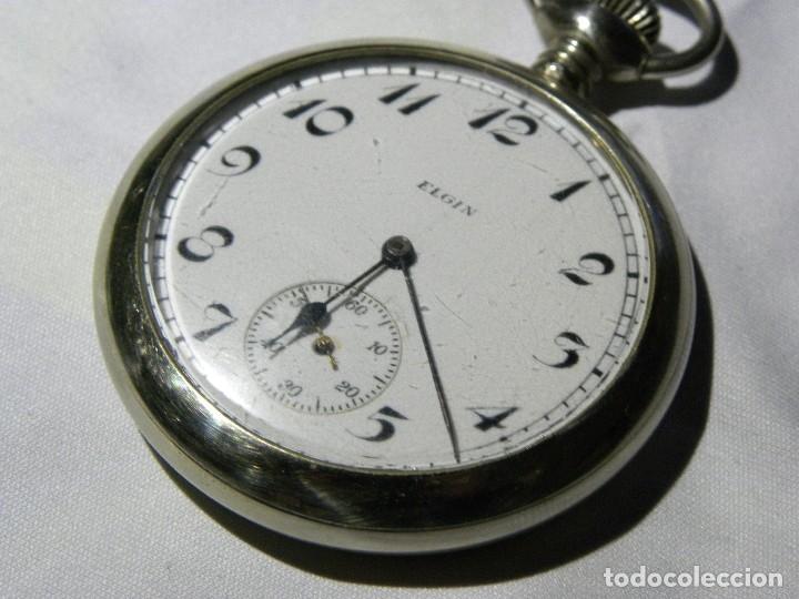 ed6411d0c 5 fotos RELOJ DE BOLSILLO MARCA ELGIN (USA), FUNCIONANDO (Relojes - Bolsillo  Carga Manual ...