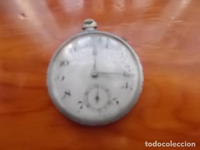 ANTIGUO RELOJ DE BOLSILLO CRONOMETRO / FUNCIONANDO (Relojes - Bolsillo Carga Manual)