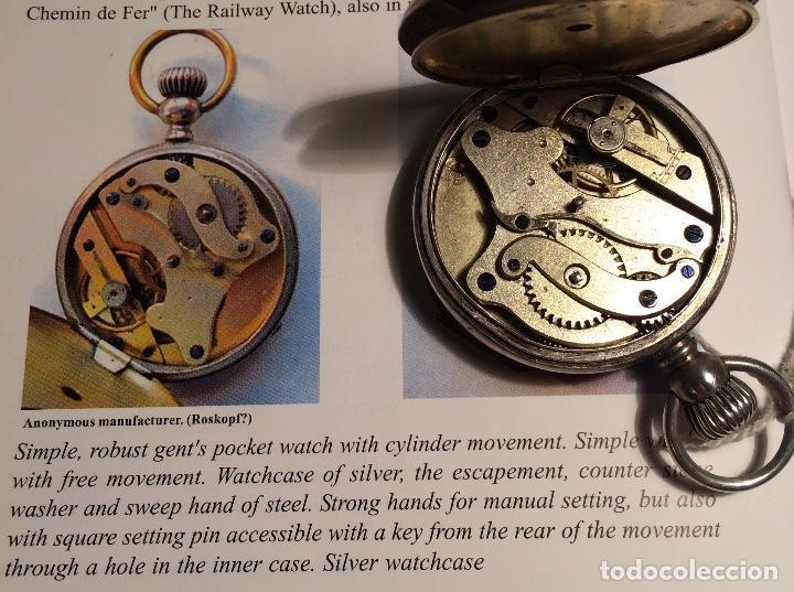 Relojes de bolsillo: Reloj de bolsillo ¿Roskopf pre-proletario? - Foto 2 - 117251087