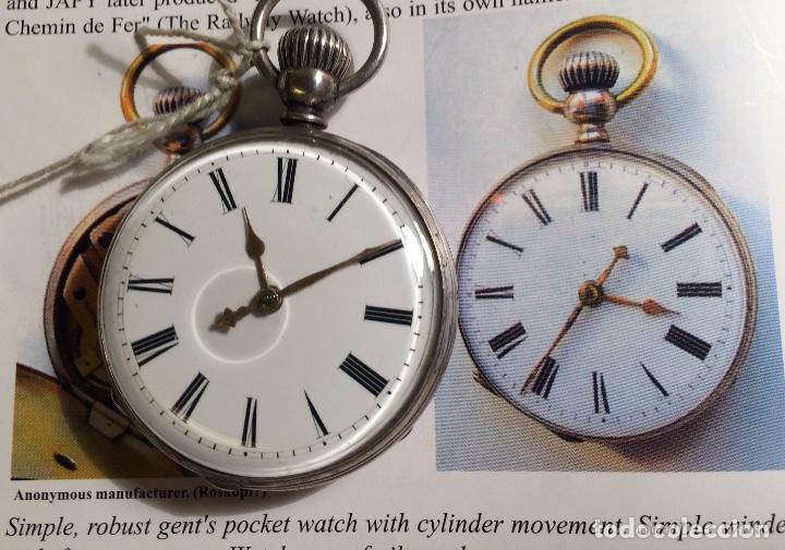 Relojes de bolsillo: Reloj de bolsillo ¿Roskopf pre-proletario? - Foto 3 - 117251087