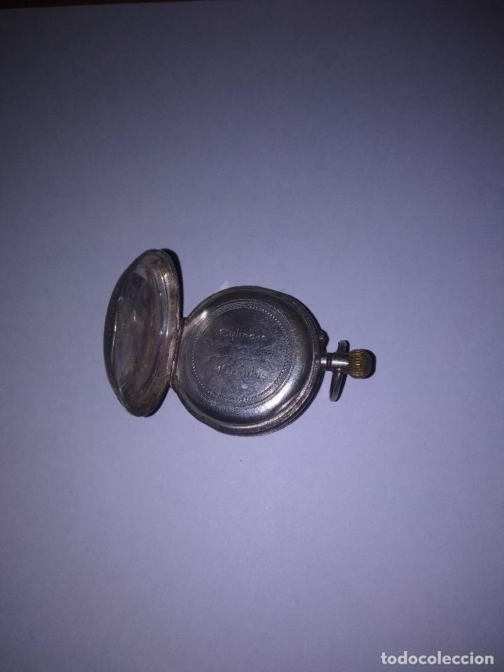 RELOJ DE PLATA (Relojes - Bolsillo Carga Manual)