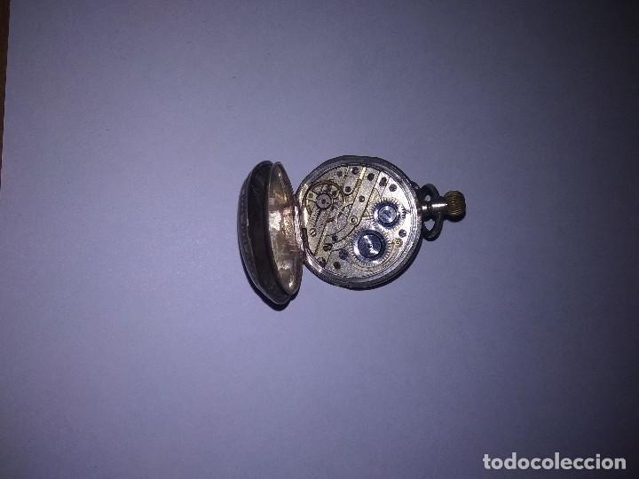 Relojes de bolsillo: Reloj de plata - Foto 3 - 117832711