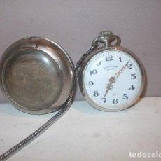 Relojes de bolsillo: ANTIGUO RELOJ ROSKOPF EN MUY BUEN ESTADO Y FUNCIONAMIENTOCON DOBLE CAJA,BARATO. Lote 118065571
