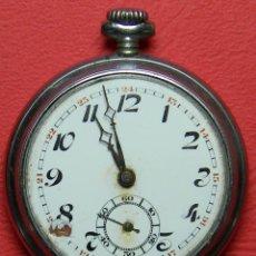 Relojes de bolsillo: RELOJ LEPINE - PESO: 58 GRAMOS - DIMENSIONES: 45 MM DE DIAMETRO. PRECISA RESTAURACIÓN Y LIMPIEZA.. Lote 118167155