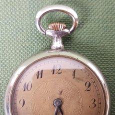 Relojes de bolsillo: RELOJ DE BOLSILLO. CAJA DE ACERO INOXIDABLE. CIRCA 1940. . Lote 118448699