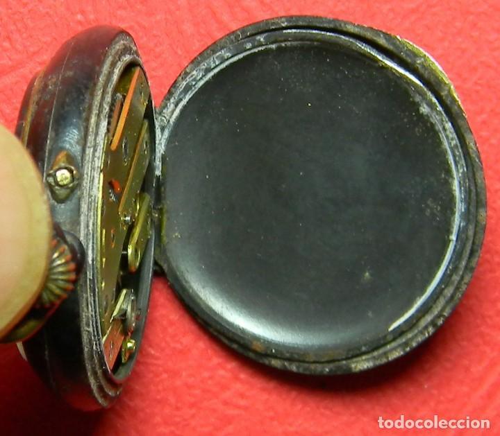 Relojes de bolsillo: Reloj tipo Lepine - Señora - Peso: 22 gramos - Diametro 30 mm - Metal nielado - Foto 9 - 118558383