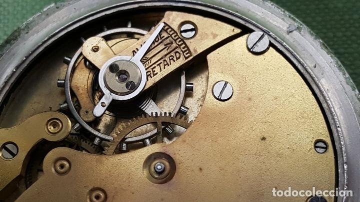 Relojes de bolsillo: RELOJ DE BOLSILLO. FIX WATCH. EL TRUST MADRID. ACERO INOXIDABLE. CIRCA 1930. - Foto 8 - 118764491