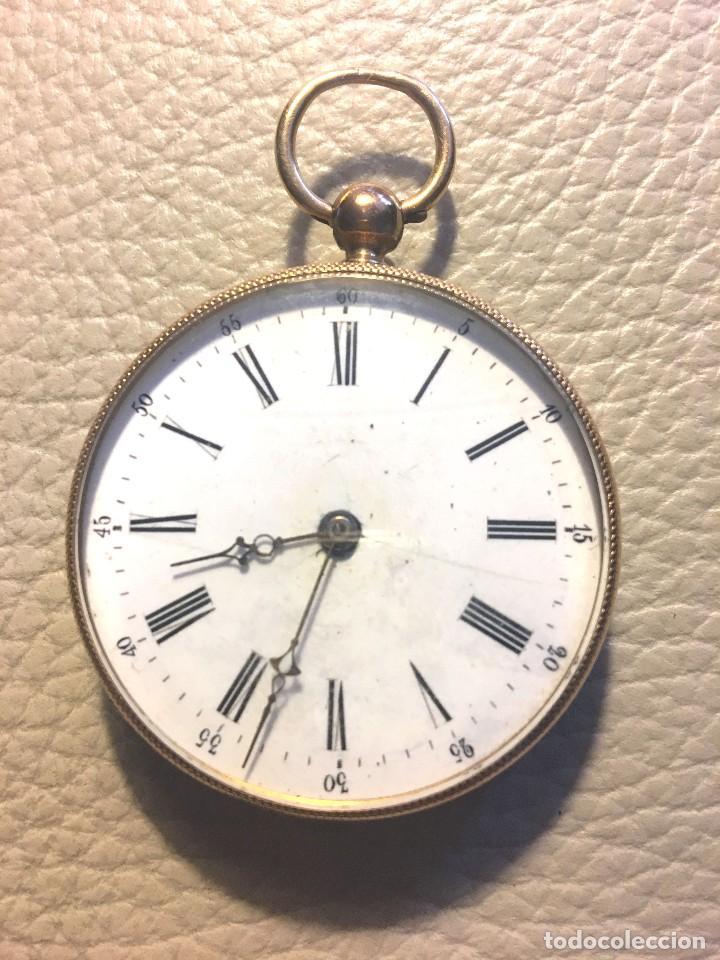 RELOJ SUIZO DE ORO 18K (Relojes - Bolsillo Carga Manual)