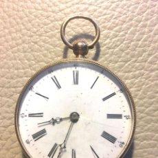 Relojes de bolsillo: RELOJ SUIZO DE ORO 18K. Lote 118777087