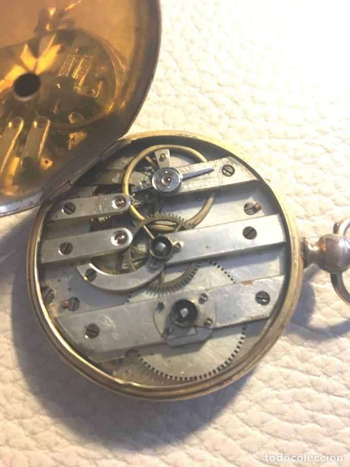 Relojes de bolsillo: Reloj suizo de oro 18K - Foto 3 - 118777087