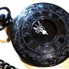 Relojes de bolsillo: RELOJ STEAMPUNK RETRO HUNTER. Lote 118927035
