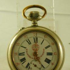 Relojes de bolsillo: W ROSSKOPF PATENT BOLSILLO TODO ORIGINAL. Lote 119118659