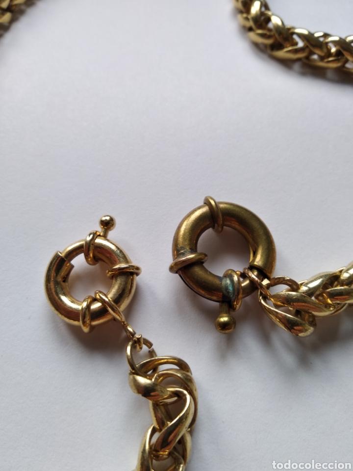 Relojes de bolsillo: Espectacular cadena de reloj de bolsillo - Foto 2 - 119452411