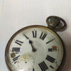 Relojes de bolsillo: ANTIGUO RELOJ A CUERDA NO FUNCIONA PARA DESGUACE PIEZAS O REPARACION BARCELONA?. Lote 119452551