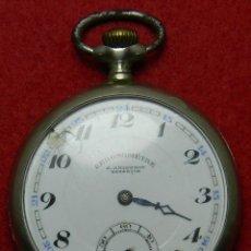 Relojes de bolsillo: ARGENSON - LEPINE A. ANGUENOT BESANÇON - PESO 75 GRAMOS - DIAMETRO: 49 MM - MARCAJES. Lote 119509063