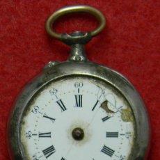 Relojes de bolsillo: LEPINE DE SEÑORA - PAUL MANOC À MONTPELLIER - PESO 17 GRAMOS - DIAMETRO: 30 MM - MARCAJES. Lote 119509499