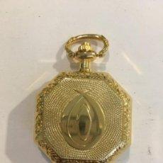 Relojes de bolsillo: RELOJ DE BOLSILLO QUARTZ CHAPADO NUEVO MODELO EXAGONAL. Lote 119905443