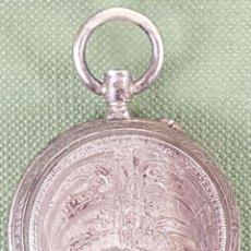 Relojes de bolsillo: RELOJ DE BOLSILLO. COLGANTE. TIPO SABONETA. CAJA DE PLATA. SIGLO XIX-XX. . Lote 119945515