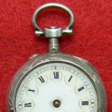 Relojes de bolsillo: PLATA - LEPINE DE SEÑORA - MARCAJE - 19 GRAMOS - 30 MM DE DIAMETRO. Lote 120805799