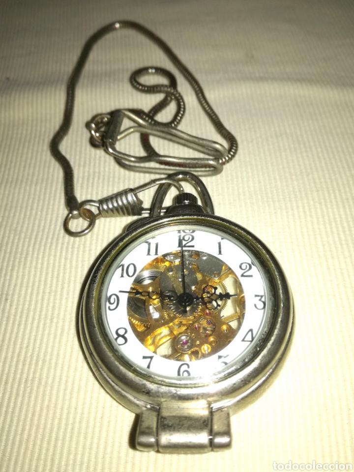 RELOJ DE BOLSILLO A CUERDA. (Relojes - Bolsillo Carga Manual)