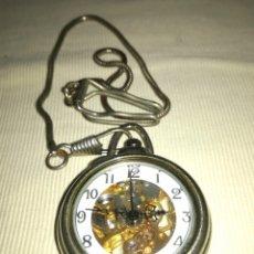 Relojes de bolsillo: RELOJ DE BOLSILLO A CUERDA.. Lote 120822162