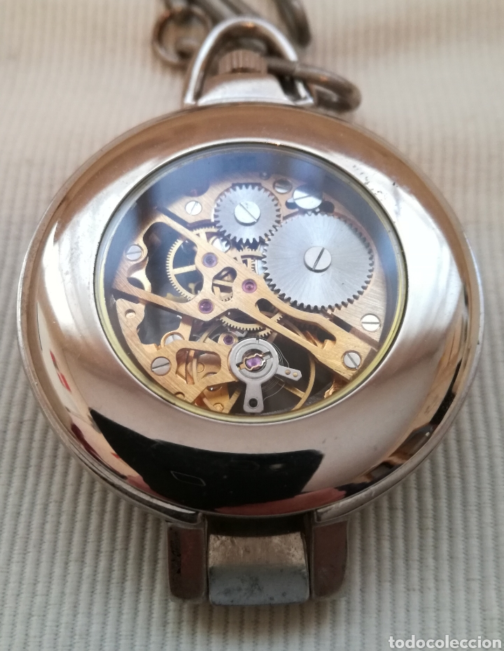 Relojes de bolsillo: Reloj de Bolsillo A Cuerda. - Foto 2 - 120822162