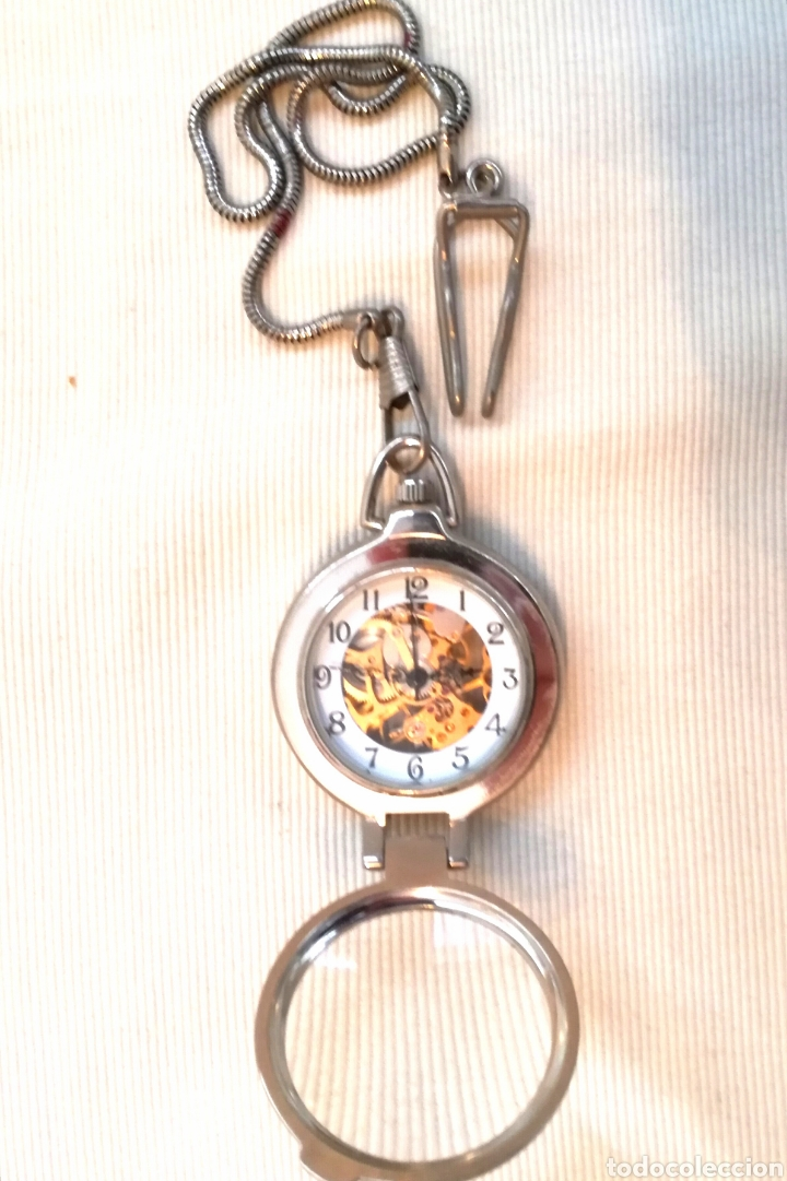 Relojes de bolsillo: Reloj de Bolsillo A Cuerda. - Foto 3 - 120822162