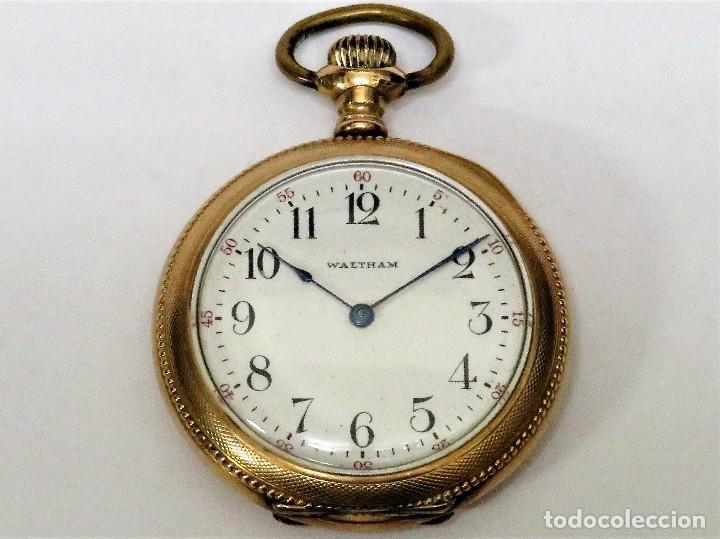 WALTHAM MADE IN USA AÑO 1906 MODELO 1890 (Relojes - Bolsillo Carga Manual)