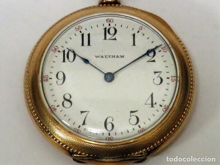 Relojes de bolsillo: WALTHAM MADE IN USA AÑO 1906 MODELO 1890 - Foto 2 - 120980115