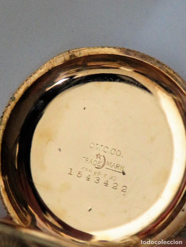 Relojes de bolsillo: WALTHAM MADE IN USA AÑO 1906 MODELO 1890 - Foto 6 - 120980115