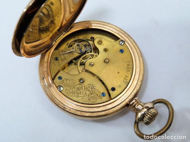 Relojes de bolsillo: WALTHAM MADE IN USA AÑO 1906 MODELO 1890 - Foto 8 - 120980115