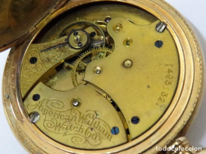 Relojes de bolsillo: WALTHAM MADE IN USA AÑO 1906 MODELO 1890 - Foto 9 - 120980115