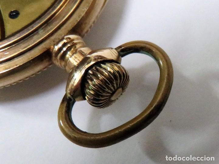 Relojes de bolsillo: WALTHAM MADE IN USA AÑO 1906 MODELO 1890 - Foto 10 - 120980115