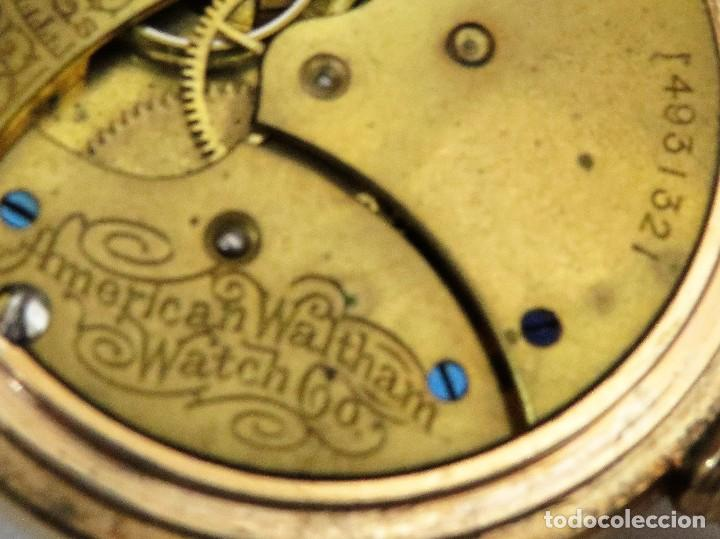 Relojes de bolsillo: WALTHAM MADE IN USA AÑO 1906 MODELO 1890 - Foto 11 - 120980115